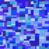 Toy bricks color background - blues Stock Photos