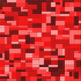 Toy bricks color background - red Royalty Free Stock Photos