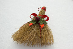 Toy Broom Royalty Free Stock Images
