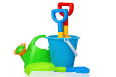 Toy bucket Royalty Free Stock Photos