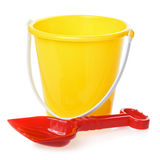 Toy Bucket And Scoop Stock Image