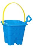 Toy bucket and spade Stock Photos