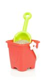 A toy bucket and spade Stock Photo