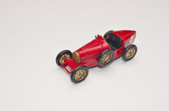 Toy Bugatti Type 35 Racing Car. Stock Photos