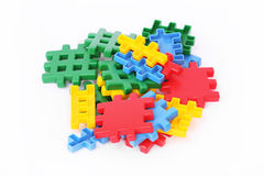 Toy building blocks Royalty Free Stock Images