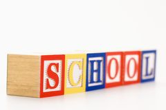 Toy building blocks. Royalty Free Stock Images