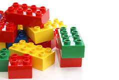 Toy Building Blocks Royalty Free Stock Photo