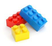 Toy building blocks Royalty Free Stock Image