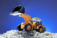 toy bulldozer Stock Image