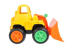 Toy, bulldozer Stock Photography