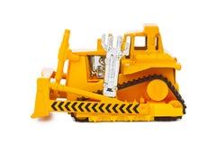 Toy bulldozer Stock Images