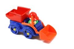 Toy bulldozer Royalty Free Stock Photography