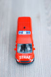 Toy bus Stock Images