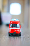 Toy bus Royalty Free Stock Photography