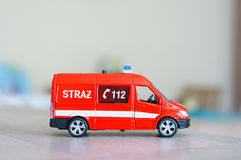 Toy bus Stock Photography