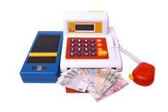Toy calculator Stock Image