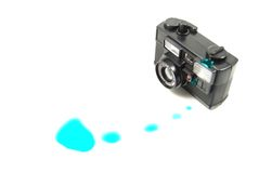 Toy camera Royalty Free Stock Photography