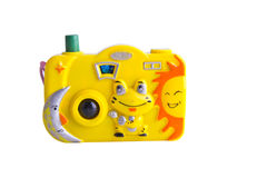 Toy camera. royalty free stock photography