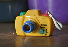 Toy camera Royalty Free Stock Images