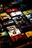 Toy Cameras. Toy camera refers to a simple, inexpensive film camera Royalty Free Stock Photo