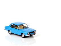 Toy car. Close up of blue toy car Royalty Free Stock Image