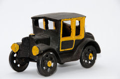 Toy car. Very old authentic toy car in cast iron Royalty Free Stock Photo