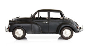 Toy Car. Classic English style toy car, isolated on white Stock Photography