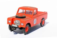 Toy-car 2 Royalty Free Stock Image