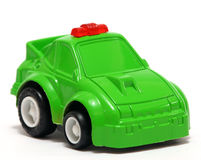 Toy Car. Tiny green toy car for fun Royalty Free Stock Photo