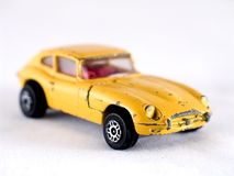 Toy car. Isolated Object Stock Photography