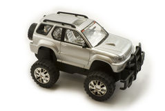 Toy car 4x4 Royalty Free Stock Image