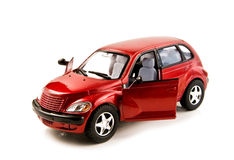 Toy car. Isolated on white background Stock Photos