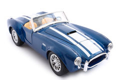 Toy car. Single model car over white background Stock Photo