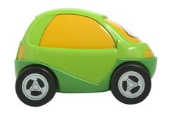Toy car. Isolated on white with clipping path royalty free stock images