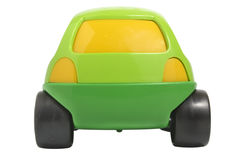 Toy car. Isolated on white with clipping path royalty free stock image