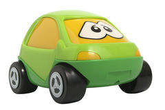 Toy car. Isolated on white with clipping path stock images