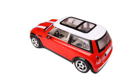 Toy car. A toy car with white background stock image