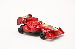 Toy car. S closeup isolated on white background Royalty Free Stock Images