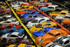 Toy car collection royalty free stock photos
