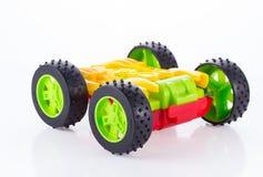 Toy Car colorido aisló Foto de archivo