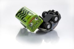 Toy Car Crush Stock Afbeeldingen