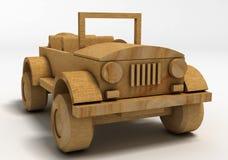 Toy Car de madeira Foto de Stock Royalty Free