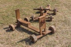 Toy Car de madeira Fotos de Stock