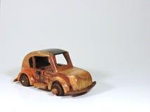 Toy Car de madera Imágenes de archivo libres de regalías