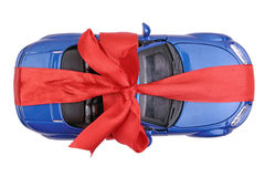 Toy car gift Royalty Free Stock Images