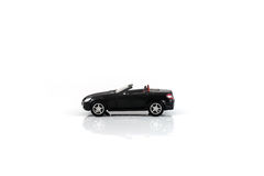 Toy Car ha isolato su bianco Immagini Stock