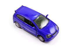 Toy car isolated Royalty Free Stock Photos