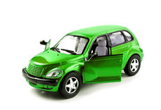 Toy car isolated. On white background Royalty Free Stock Images
