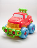 Toy car. Toy jeep car on a white background Royalty Free Stock Images