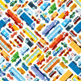 Toy car pattern Stock Photos